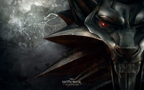 Wallpaper wolf, medallion, the witcher, the Witcher