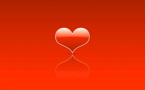 Wallpaper heart, minimalism, lovers, heart, Holy, Valentin