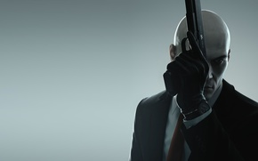 Picture Gloves, Weapons, Hitman, Square Enix, Guns, Agent 47, Jacket, IO Interactive, Assassin, HITMAN, Forty-seventh