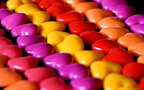 Picture macro, candy, hearts, pills