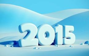 Picture winter, snow, New year, New Year, Happy, 2015