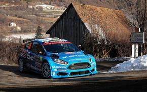 Picture Ford, Turn, WRC, Rally, Fiesta, Elfyn Evans