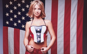 Picture music, Britney Spears, wallpapers, Girls, flag