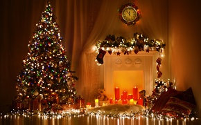 Picture new year, Christmas, christmas, merry christmas, christmas tree