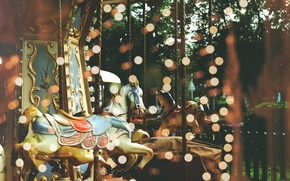 Picture glare, carousel, by TanjaMoss