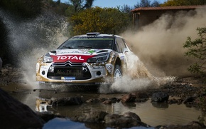 Picture Dust, Citroen, Squirt, DS3, WRC, Rally, Rally, Kris Meeke
