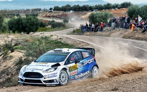 Picture Ford, Dust, WRC, Fiesta, There Miss