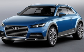 Picture audi, concept, allroad, shooting, brake
