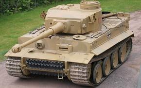 Wallpaper Germany, war, tank, tiger i