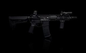 Picture weapons, rifle, assault, AR-15