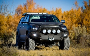 Picture autumn, nature, Toyota, Tuning, Tundra, Offroad, DEVOLRO