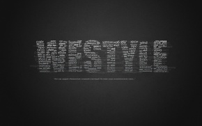 Picture Minimalism, Background, Letters, Words, Text, Westyle