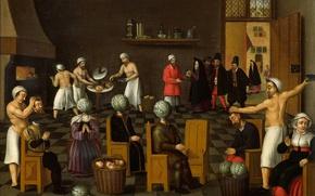 Picture picture, genre, Cornelis Van Dalem, The legend of the Baker of Eeklo