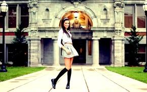 Picture girl, model, brunette, Emily Valdez