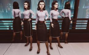 Picture girl, DLC, 2K Games, Elizabeth, Bioshock Infinite, Elizabeth, Burial at Sea