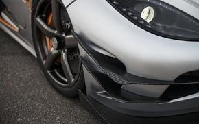 Picture lights, Koenigsegg, Carbon, Koenigsegg, One:1, Megacar