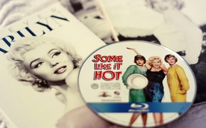 Picture Marilyn Monroe, In jazz only girls, disk