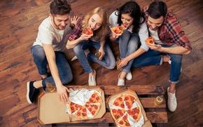 Picture pizza, fun, friends