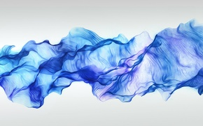 Picture wave, minimalism, scarf, veil, scarf, veil