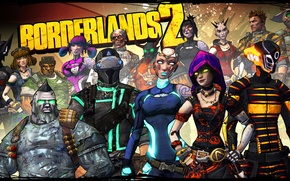Picture Maya, Borderlands 2, Zer0, Axton, characters, Skins
