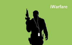 Wallpaper iPod, Call of Duty, Modern Warfare 3, Sadat
