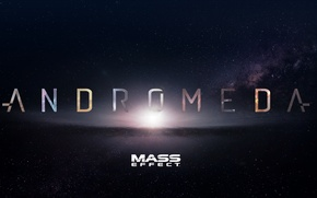 Picture andromeda, mass effect, Mass Effect: Andromeda, bioware, space, stars