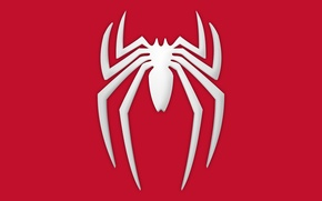 Picture logo, game, symbol, Spider-Man, PlayStation 4, PS4
