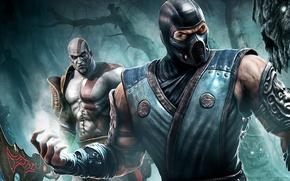 Picture Kratos, Mortal Kombat, Sub Zero