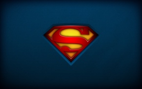 Picture red, logo, superman, yellow, blue