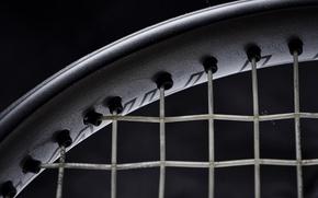 Picture texture, black background, Tennis