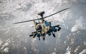 """Picture helicopter, Apache, shock, AH-64, """"Apache"""""""