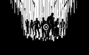 Picture Scarlett Johansson, Heroes, Superheroes, Hulk, the, Men, Iron Man, Captain America, Super, Team, Thor, Black …