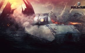 Picture Game, World of Tanks, Maus, Wargaming Net, FuriousGFX