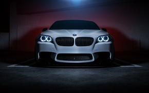 Picture BMW, Car, Front, F10, 550i, Ligth
