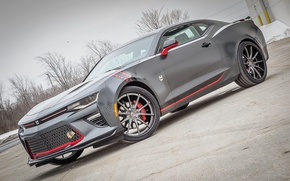 Picture Chevrolet, Camaro, Chicago, Coupe, Blackhawks, 2016, Themed