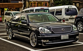 Picture road, machine, Lexus, Lexus, 430, 4.3L