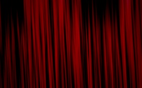 Wallpaper red, abstraction, background, curtains, texture