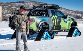 Picture Ford, pickup, Ken Block, F150