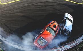 Picture race, skid, nissan, drift, drift, 350z, Nissan, race