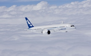 Picture Boeing Completes First Flight of First 787 Dreamliner, Boeing 787-8, Powered by GE Engines