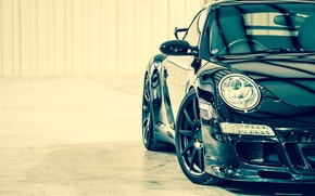 Wallpaper car, 911, turbo, supercar, porsche, Porsche, black