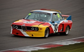 Wallpaper BMW, race, car, 1973