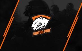 Picture strip, logo, black background, special forces, csgo, cs go, virtus pro, virtuspro, Virtus