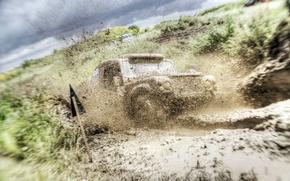 Picture machine, sport, dirt, race