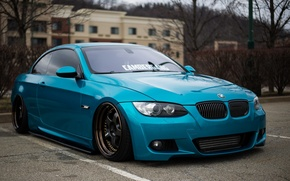 Picture bmw, BMW, tuning, power, germany, low, e92, stance