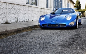 Picture the building, the concept, new, hypercar, 2015, 1MW, Toroidion