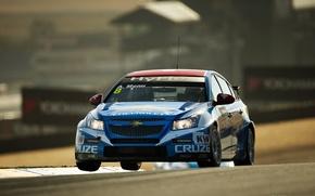 Picture background, Wallpaper, track, Chevrolet, race, America, car, Cruze, WTCC, world touring, Sonoma, Alan Menu