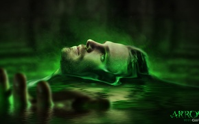 Picture water, face, male, the series, source, dc comics, Arrow, arrow, green arrow, oliver queen, stephen …