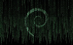 Picture linux, matrix, debian
