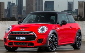 Wallpaper Mini, mini, Cooper, AU-spec, John Cooper, 2015, Works, F56